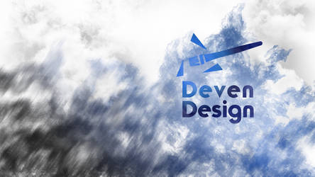Deven Garber Wallpaper Logo Flames by DevenDesign