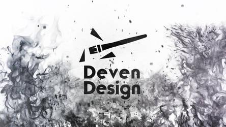 Deven Design Wallpaper Logo Flames 2 by DevenDesign