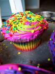Rainbow Cupcake