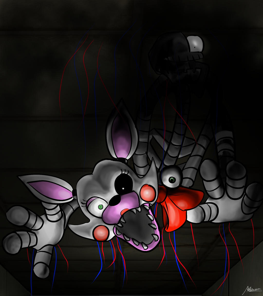 Five Nights At Freddy S 2 Mangle By Maiku Arevir On