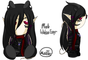 Dragonfable - Plushie Widow Emyr