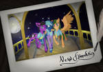 Commission - New Friends (Polaroid)