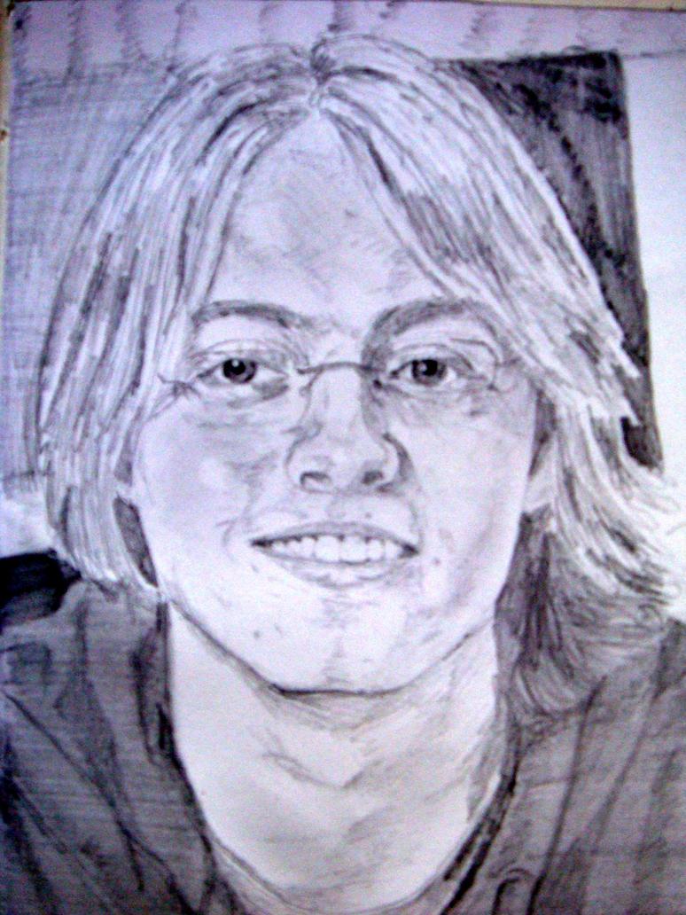Portrait I by Ichfindeein-m