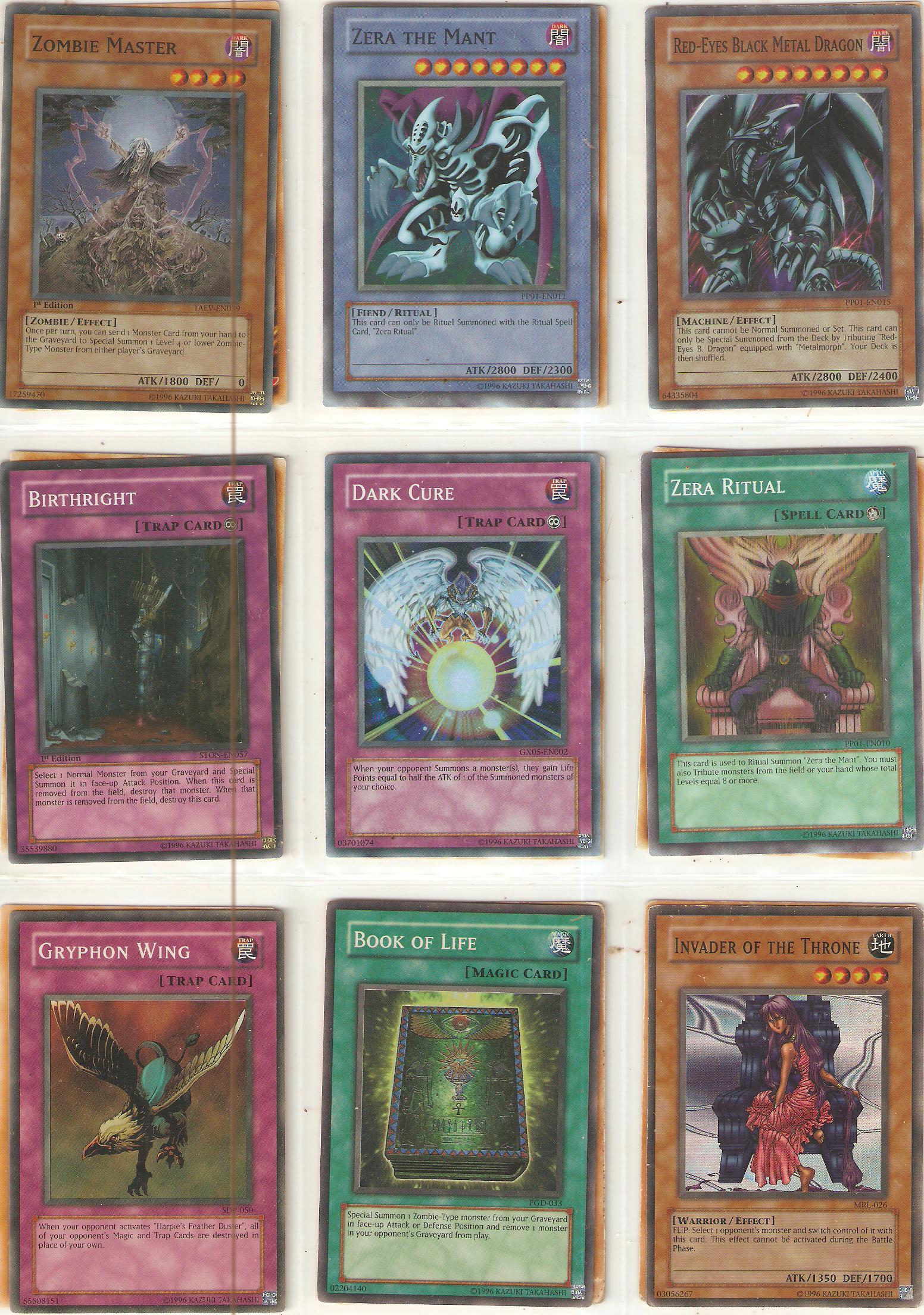 super rare card set 3 by DarkFoxProjectX