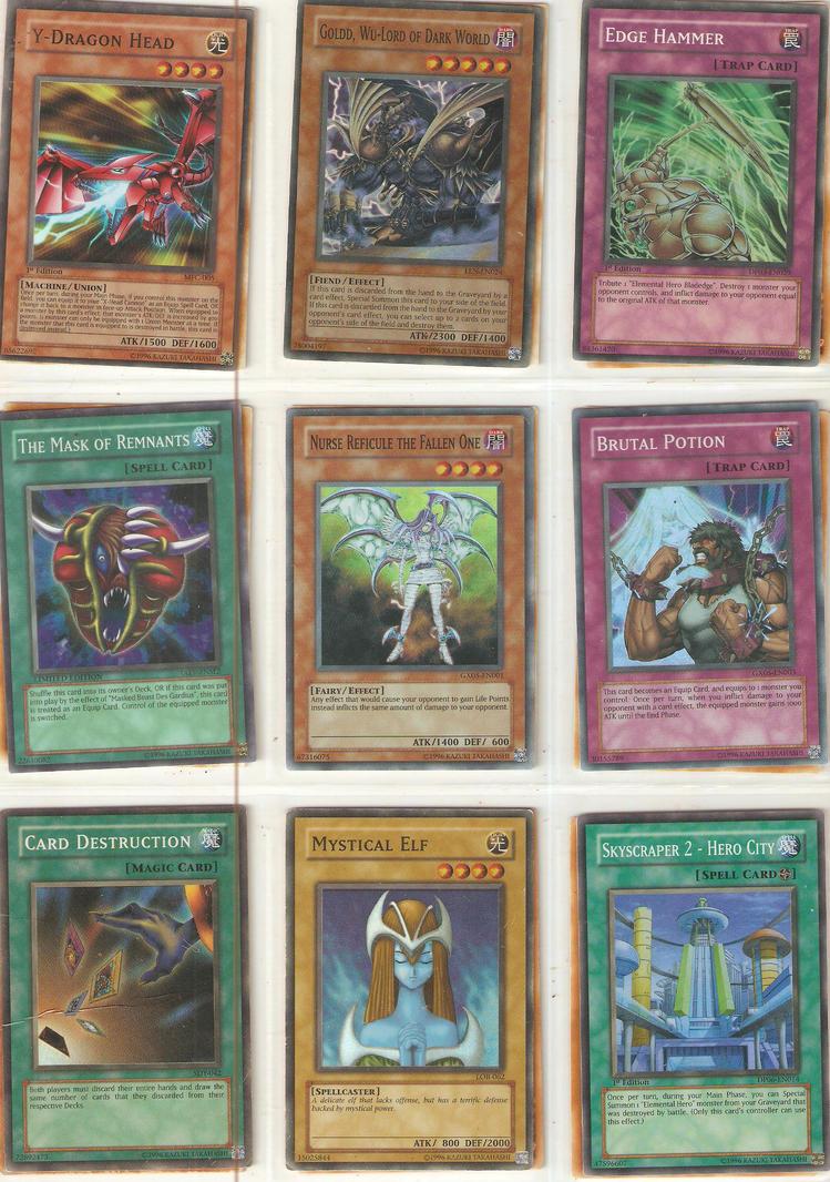 super rare card set 4 by DarkFoxProjectX