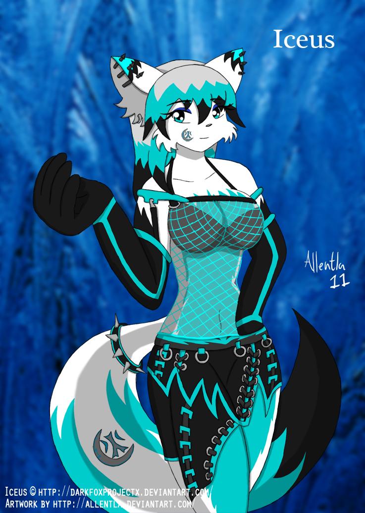 Iceus Millia Lakota PicRequest by DarkFoxProjectX