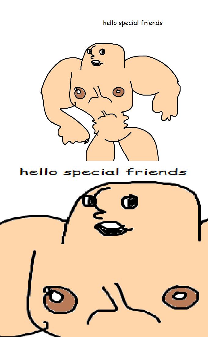 Hello Special Friends by Skookz