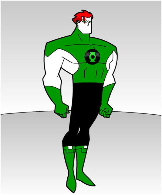 Mime-mos 1: Green Lantern of Space Sector 2013. .4
