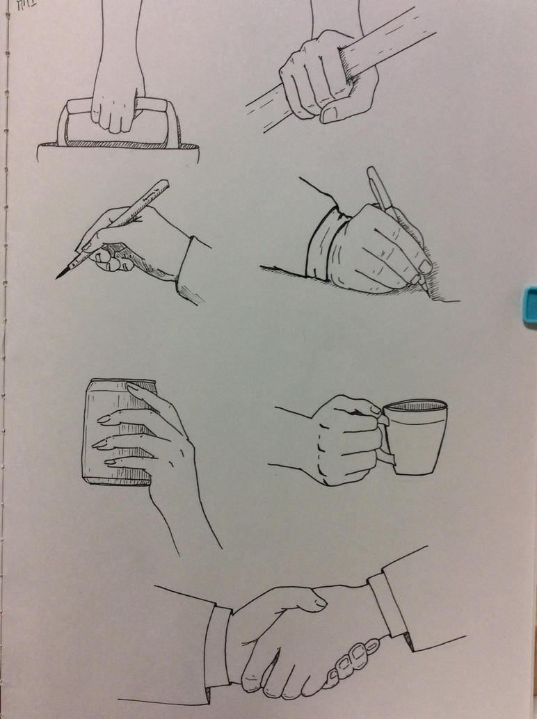 Hands holding things practice by elainyasvalley on for Things to practice drawing
