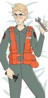 [SW] Matt the Radar Tech Body Pillow