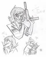 Nurse Joker Sketch Dump by otakugal15