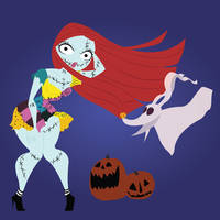 Disney Pinups: Sally by otakugal15