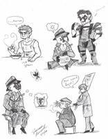 Random Chibi Watchmen by otakugal15