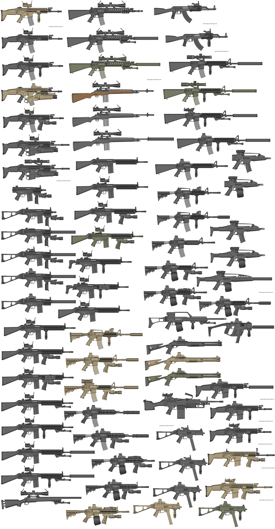 Pimp my gun 2 - More guns by rossriders