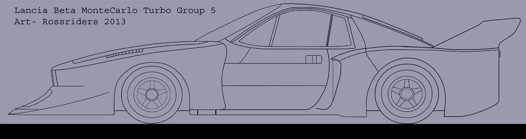 Lancia Beta Montecarlo Turbo Group 5 By Rossriders On