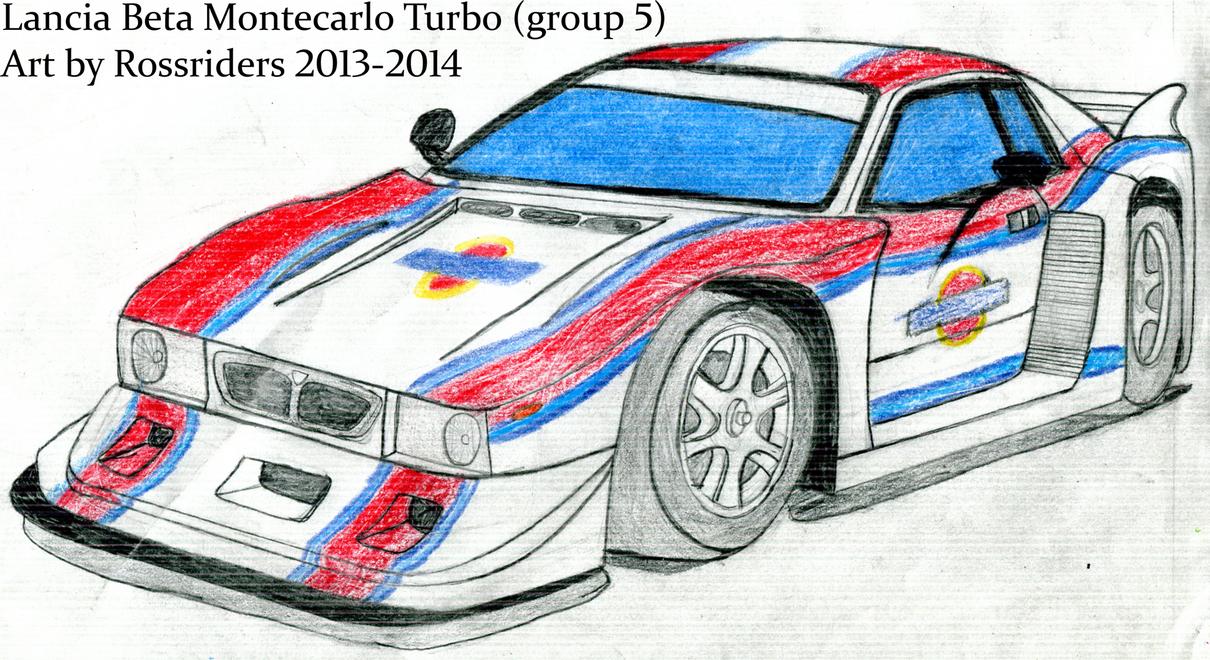 Lancia Beta Montecarlo Turbo  2  By Rossriders On Deviantart
