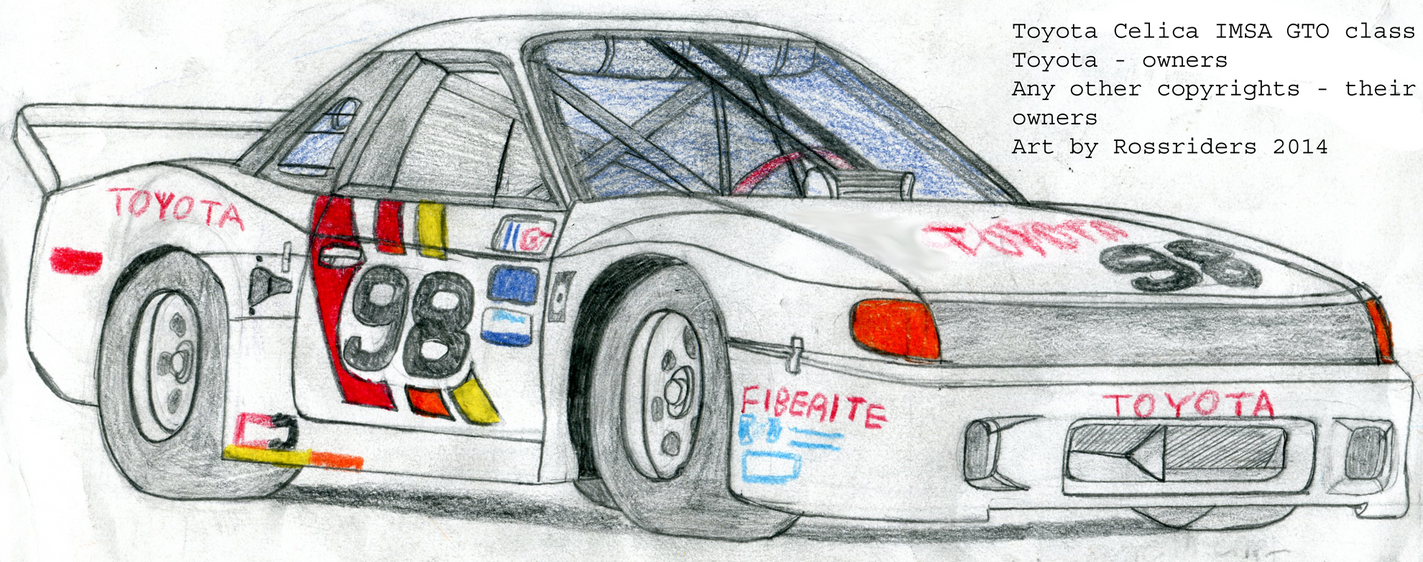 Toyota Celica IMSA GTO AAR (All American Racers) by rossriders