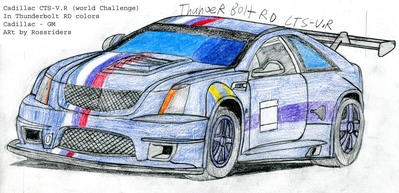 Cadillac CTS-V.R team thunderbolt by rossriders