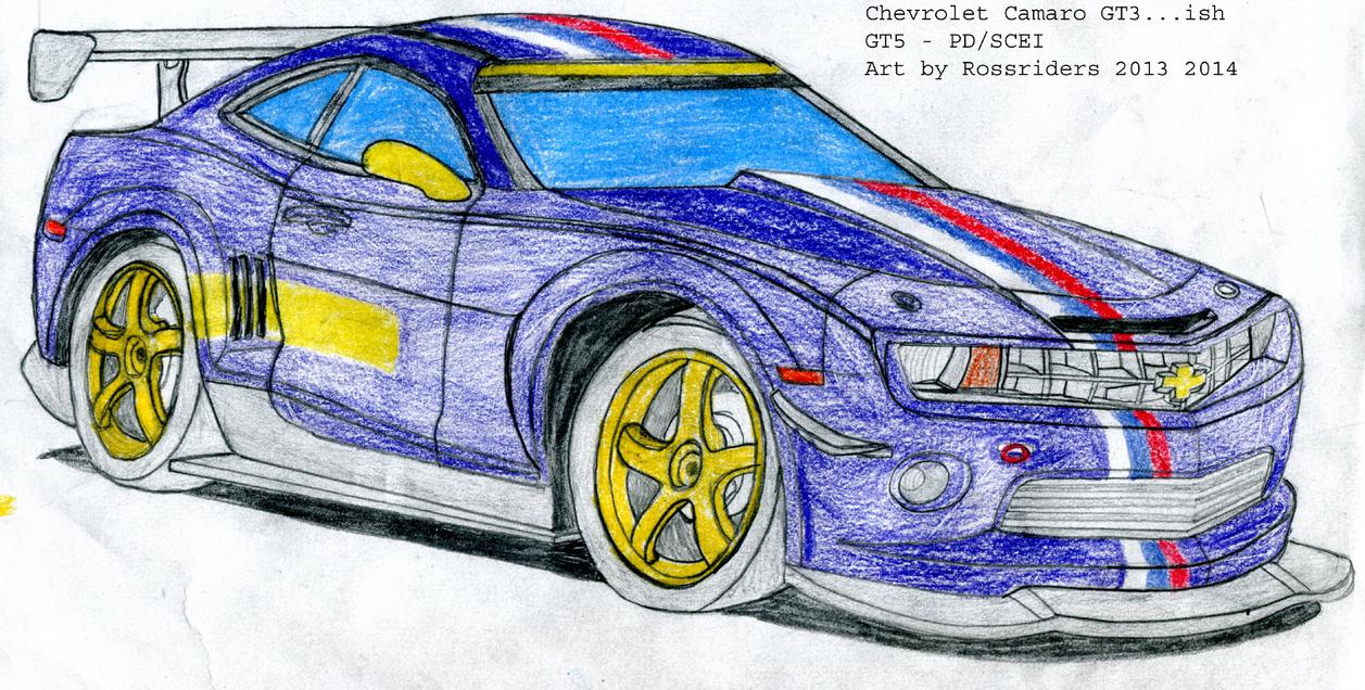 Camaro GT3 by rossriders