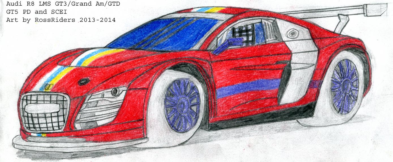 Audi R8 LMS GT3/Grand AM/GT-daytona by rossriders