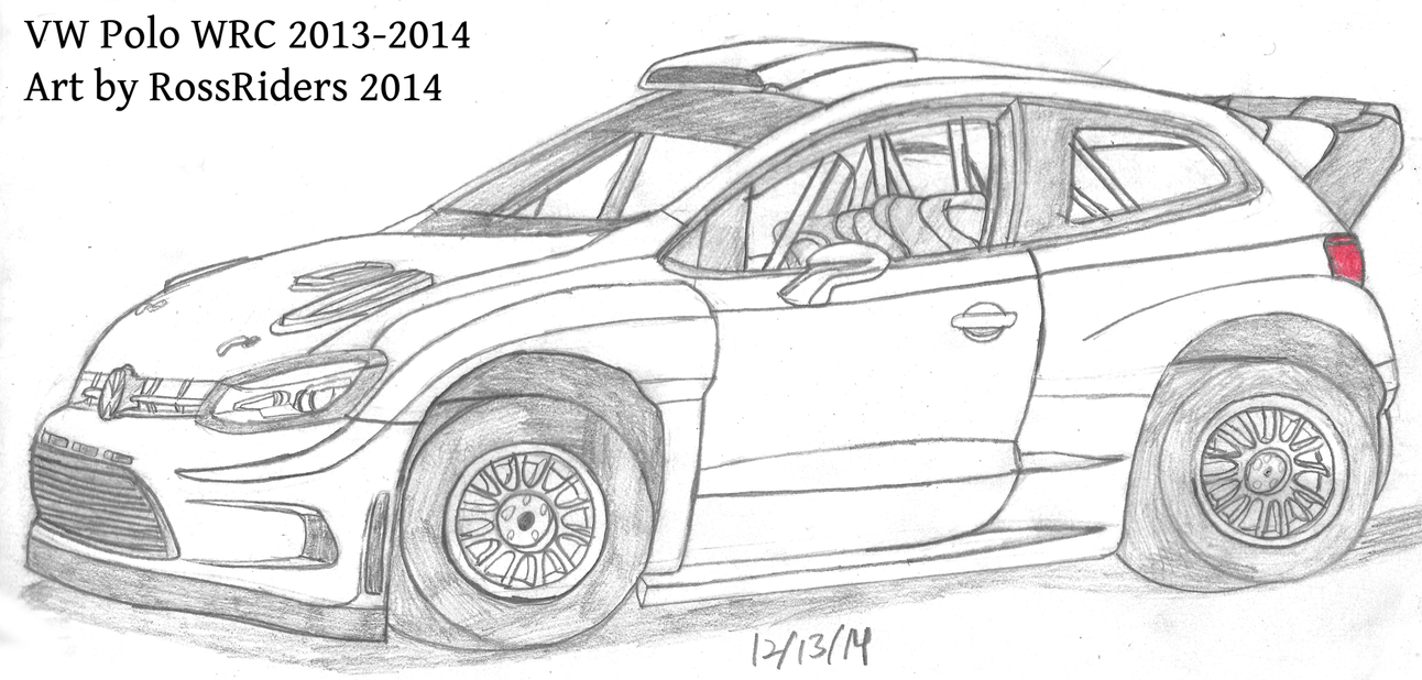 VW Polo WRC 2014 by rossriders
