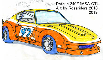 IMSA GTU Datsun 240Z