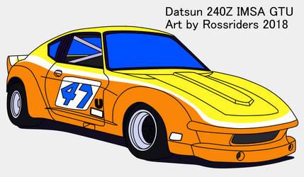 IMSA GTU Datsun 240Z flats