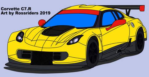 Corvette C7.R not finished