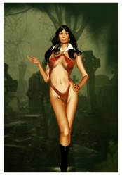 Vampirella Forever by Corwins