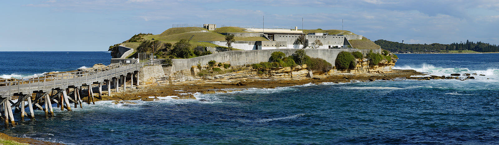 Bare Island Fortification Crop