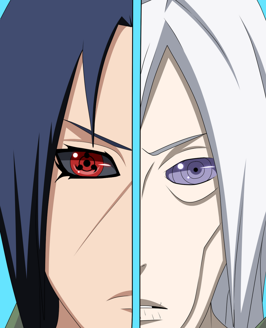 Itachi and Nagato by lamp3r on DeviantArt