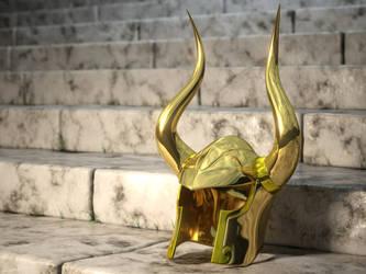 Shura's Helm by WandererFromYs