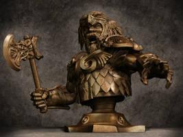 Dwarf Bust by WandererFromYs