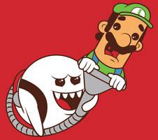 Boo's revenge T-shirt Design by alsnow
