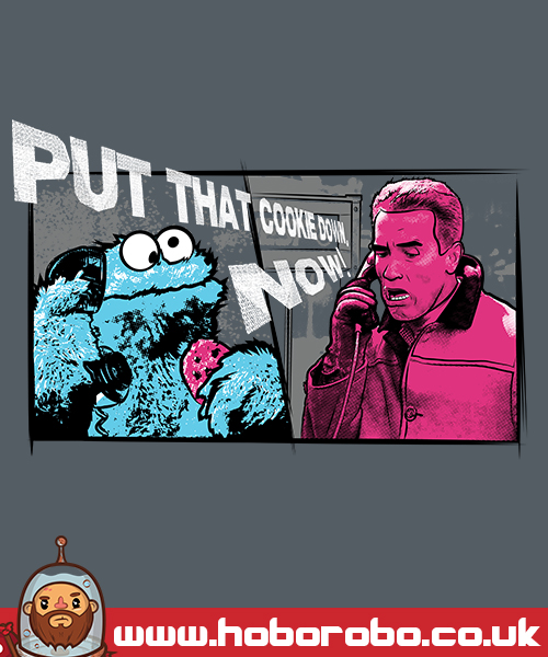 put that cookie down t shirt design by alsnow on deviantart
