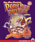 Pork butts and taters T-shirt Design