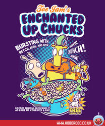 Enchanted Up Chucks T-shirt Design by alsnow