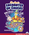 Enchanted Up Chucks T-shirt Design by alsnow