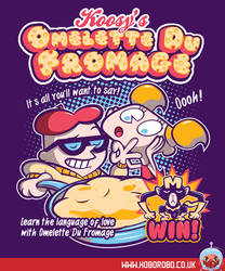 Omelette Du Fromage T-shirt Design