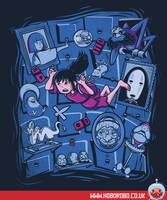 Chihiro in Spiritland T-shirt Design by alsnow