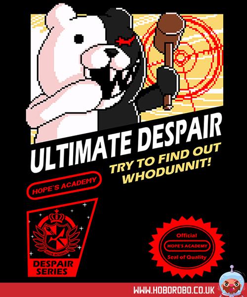 Ultimate despair T-shirt design by alsnow