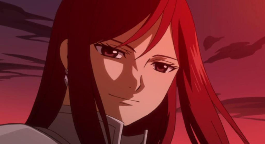 Beautiful Thought  Erza (Fairy Tail) x Male Reader by