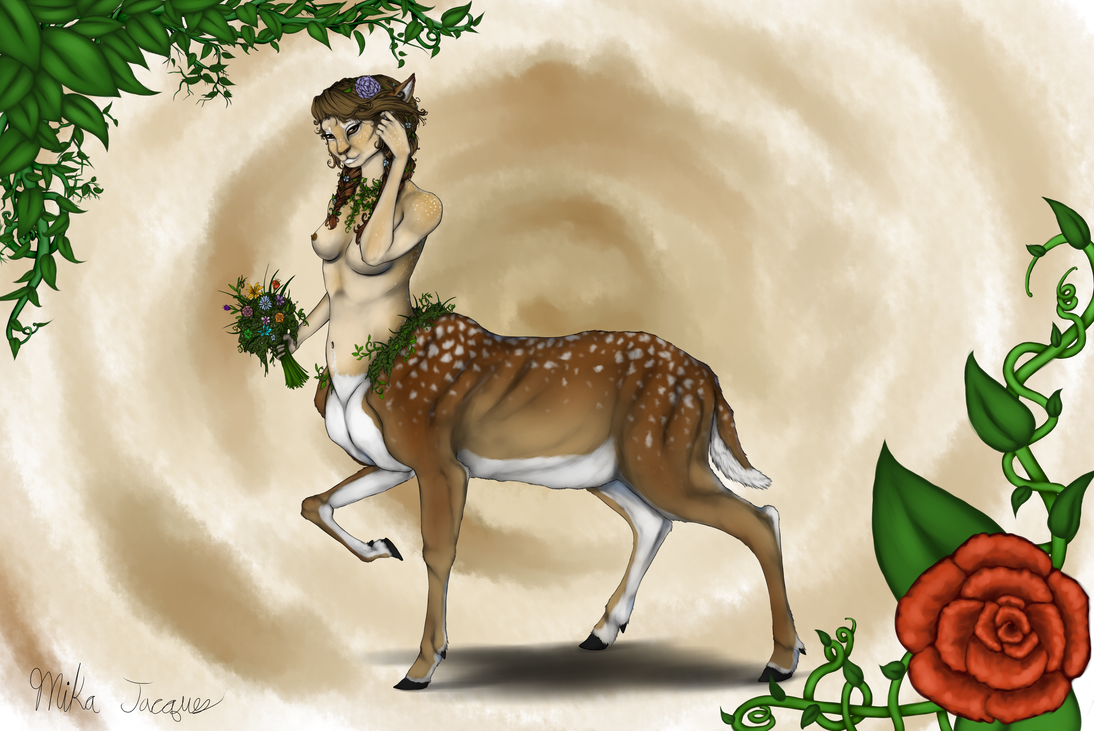 Deer Girl by mika525