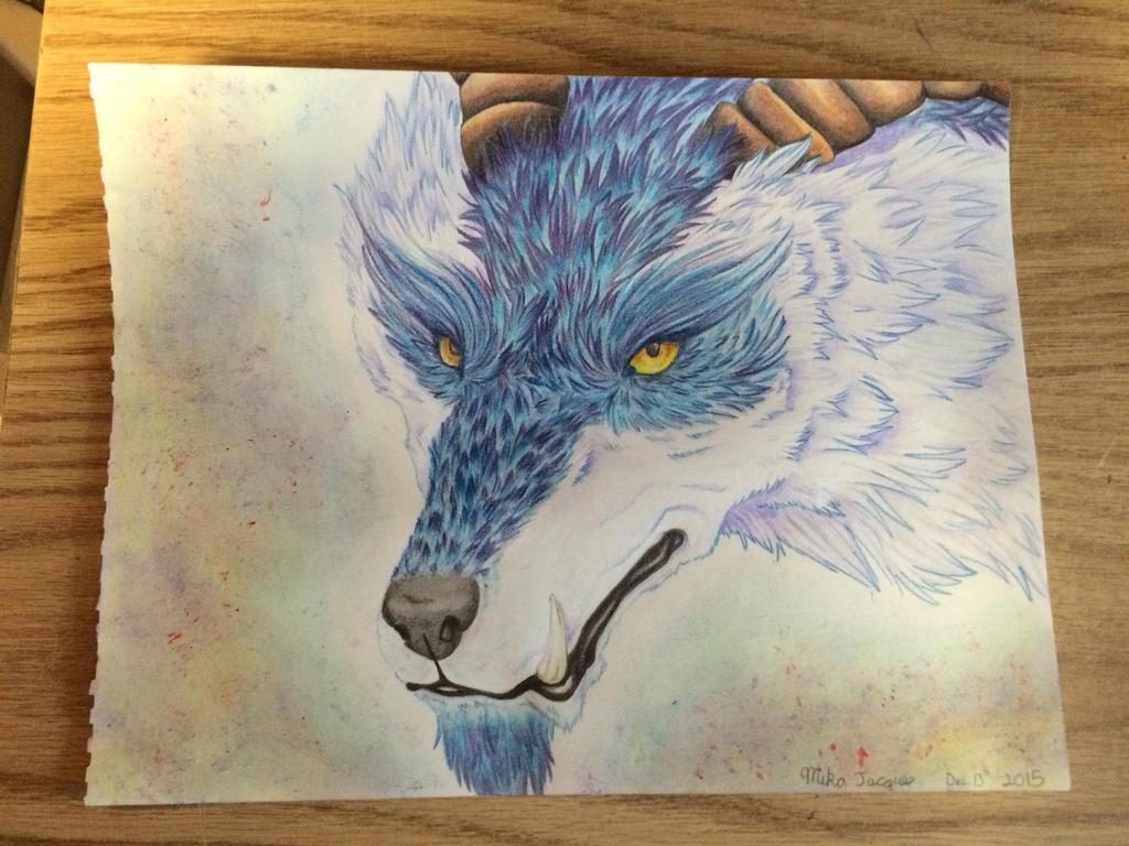 Fluffy dragon by mika525