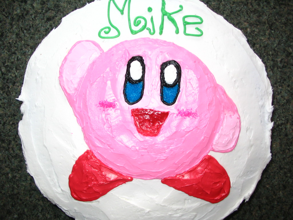 Kirby Cake Design By Frogmastr1 On Deviantart