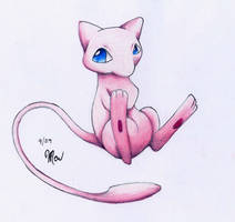 Mew by frogmastr1