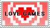 Love Games Stamp by MysteryEzekude