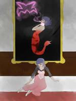 Mermaid au Marinette by FallenHinataAngel