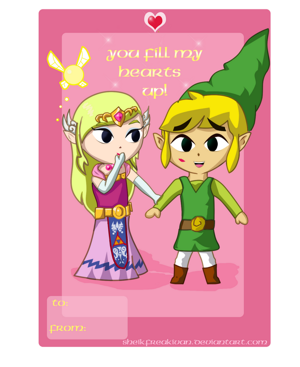 ... WW Zelink Valentine By Kawaii Okami