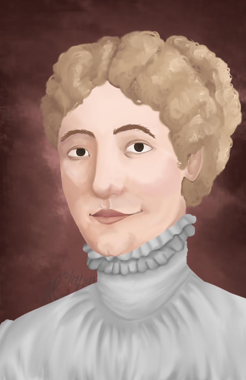 Eliza Schuyler Hamilton Women's History Month by AllisonMichelleCoon